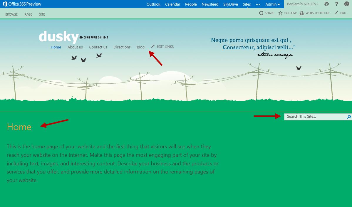 free asp net master page templates - sharepoint 2013 hosting design